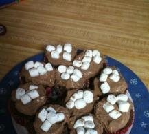Hot Cocoa-Marshmallow Cupcakes Image 2