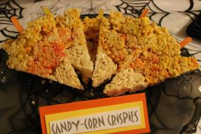 Candy Corn RICE KRISPIES® TREATS™ on a Stick Image 2