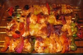 Sweet BBQ Chicken Kabobs Image 2