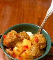 Polynesian Glazed Meatballs Image 2