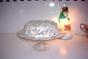 Banana-Sour Cream Cake Image 3