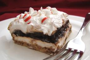 Chocolate-Peppermint Striped Delight Image 2