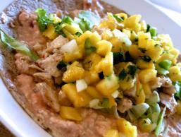 Salsa Chicken Wrap with Pineapple Pico de Gallo Image 3