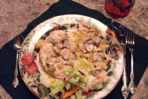 Skillet Chicken Breasts in Mushroom Sauce Image 2