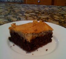 Warm Peanut Butter-Chocolate Cake Image 2