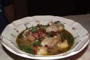 Chicken and Dumplings in Green Salsa Image 2