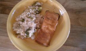 Teriyaki Salmon Supper Image 2